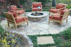 Fire Pit Chairs Fire Pit Outside Landscape Group, LLC Alpharetta, GA