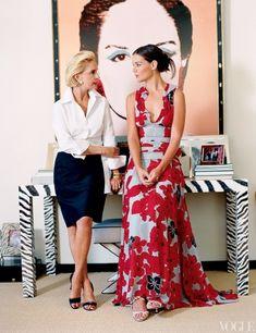 Carolina Herrara...my fav designer! Simplicity, elegance, classic beauty!
