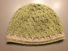 Brick Stitch Hat free crochet pattern
