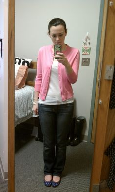OOTD Sweater, Tank, & Jeans: J. Crew Shoes: c/o Tipsy Skipper
