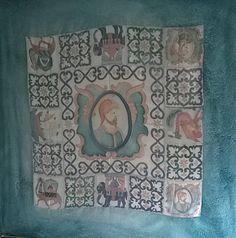 foulard dipinto a mano