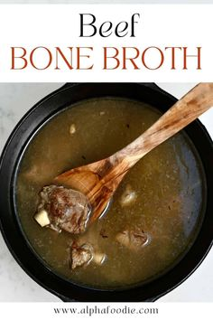 How to make beef broth (or stock) at home on the stovetop (+ other methods included!). This 2-in-1 recipe focuses on how to make a fragrant, savory, meaty beef broth and cook meat ready to use in other dishes. Then, how to continue the process with the beef bones for a hearty bone broth (aka beef stock). This beef bone broth recipe is gluten-free, sodium-adjustable, packed with healthful nutrients, and can be organic!