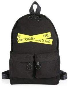 05daf78087 Off-White Firetape Backpack White Backpack