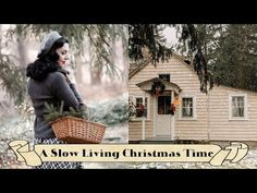 A SLOW LIVING CHRISTMAS TIME | Cozy Cottage Vlog Christmas Time Is Here, Christmas Home, Swedish Style, Winter Is Here, Peace On Earth, Slow Living, Cozy Cottage, Finding Peace