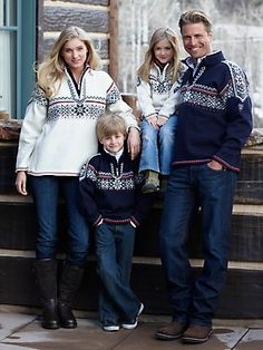 Holmenkollen Sweater by Dale of Norway - fashion for the whole family!