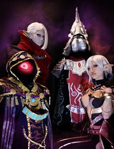 Hyrule Warriors cosplay group by MIE | #Ghirahim #Zant #Wizzro #Cia