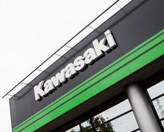 Kawasaki Brand Sign