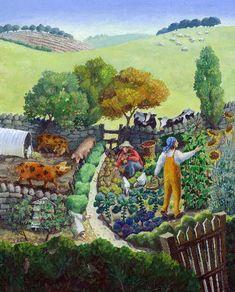 UK ~ Jenny Beck ~ Viable Self Sufficiency