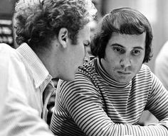 Simon and Garfunkel—Rock N' Roll icons.  They said more in quiet tones than most bands say with screeching electric guitars, and I love screeching electric guitars! :)