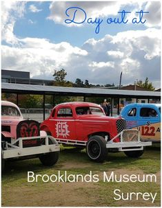 My review of Brooklands Museum in Surrey after our family day out - discovering classic race cars, vintage buses and taking a tour on board on of the few remaining Concordes