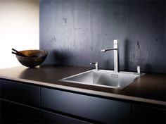 Dexterton Corporation Philippines also represent Blanco Kitchen Sinks and Accessories. Blanco Kitchen Sinks, Kitchen Sink Faucets, Double Vanity, Kitchen Design, Interiordesign, Home Decor, Contemporary Design, Stainless Steel, Building Homes