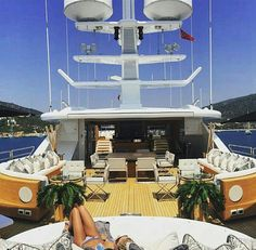 Luxury yacht design interior trip sailing and having private party on super mega boat life style for vacation and wedding on deck with style ond model of black and etc Yacht For Sale, Boats For Sale, Yatch Party, Rich Kids Of Instagram, Yacht Interior, Luxe Life, Yacht Design, Rich Life, Super Yachts