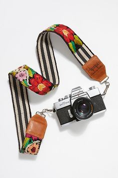Leather Embroidery Camera Strap from Free People! Cameras Nikon, Best Digital Camera, Digital Slr, Leather Embroidery, Dslr Photography Tips, Photography Equipment, Camera Phone, Camera Gear, Nikon Camera Tips