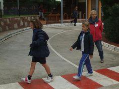 Visita al Parque de Tráfico de los alumnos de 3º y 4º de Primaria