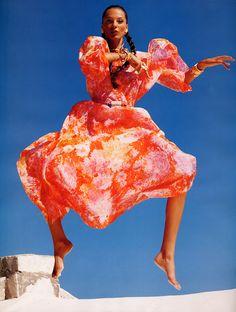 Daria Werbowy Vogue Paris April 2008