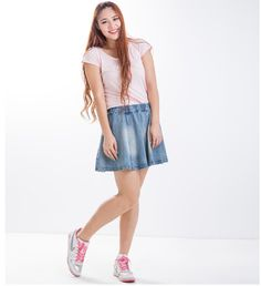 Cheap Skirts on Sale at Bargain Price, Buy Quality Skirts from China Skirts Suppliers at Aliexpress.com:1,Waistline:Natural 2,Pattern Type:Solid 3,Dresses Length:Above Knee, Mini 4,Brand Name:LeiJi 5,Combination form:separate