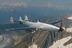 "Swiss Air Force F+W C-3605 ""Schlepp"" (target towing aircraft)"