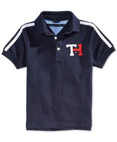Tommy Hilfiger Boys' Jason Polo Shirt Polo Rugby Shirt, Polo T Shirts, Camisa Polo, New T Shirt Design, Shirt Designs, Boys Tracksuits, Tommy Hilfiger Outfit, T Shart, Shirt Style
