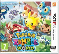 GAMEZIK » POKÉMON RUMBLE WORLD BIENTÔT DISPONIBLE EN VERSION COMPLÈTE POUR NINTENDO 3DS  http://gamezik.fr/?p=6065 À partir du 22 janvier 2016, combattez et collectionnez plus de 700 Pokémon !