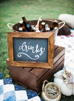 This plaid-ed out get together is the perfect backyard fall campfire party complete with dinner, an outdoor movie/popcorn station, and s'mores! Food Trucks, Backyard Party Decorations, Backyard Parties, Table Decorations, Bar, Sunset Party, 30th Birthday Parties, 17 Birthday, Outdoor Birthday