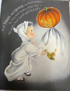 old halloween | Vintage Halloween Card | Vintage Images