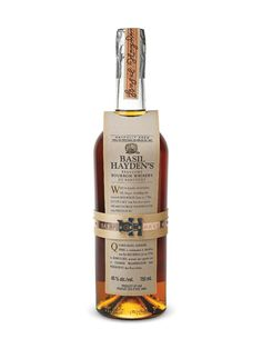 Basil Hayden Kentucky Bourbon, good standard