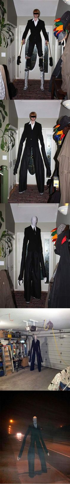 How to be Slenderman in a few easy steps