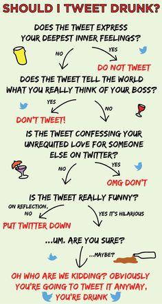 Ein paar ehrliche Social Media Grafiken