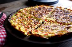The Seasonal Charms of Green Garlic: Green Garlic, Chive and Red Pepper Frittata - NYTimes.com