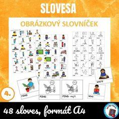 Obrázkový slovník - slovesa | LesyNápadů.cz Photo Wall, Reading, Frame, Home Decor, Picture Frame, Photograph, Decoration Home, Room Decor, Reading Books