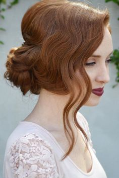30 Bright Ideas For Fall Wedding Hairstyles ❤ See more: http://www.weddingforward.com/fall-wedding-hairstyles/ #wedding