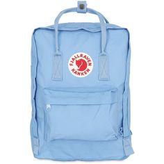 Fjall Raven Women 16l Kanken Nylon Backpack (139 AUD) ❤ liked on Polyvore featuring bags, backpacks, sky blue, detachable backpack, backpack bags, nylon zipper bags, blue bag and fjallraven bag