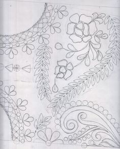 Embroidery Patterns Free, Hand Embroidery Designs, Beaded Embroidery, Fabric Patterns, Cross Stitch Embroidery, Stitch Patterns, Sewing Patterns, Motif Design, Pattern Design