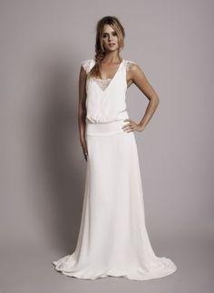 Vestido de novia parisino