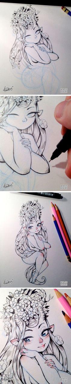 InkTober 2015 by Redisoj on Behance