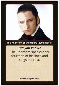 #ThePhantomoftheOpera2004 Interesting