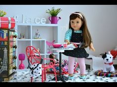 How to Make a Doll Bed: American Girl Bouquet Bed - YouTube