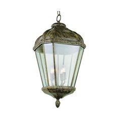 glomar concord 3 light textured black outdoor hanging lantern