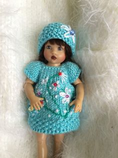 "Hand Knitted outfit for 7.5-8"" Kish Riley Helen Kish, Robert Tonner BJD 