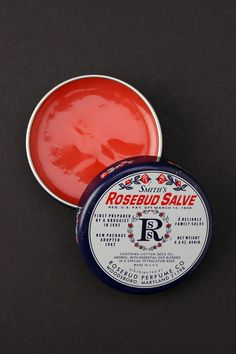 "Smith's Rosebud Salve -- ""I put that !*# on EVERYTHING!!!"" - But really I do, this is the best stuff ever, I use it as lip balm, lotion hair serum everything and it smells amazing!!!"
