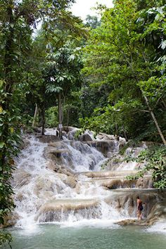 Ocho Rios, Jamaica: Dunns River Falls! 1000 foot water fall that you can climb - DONE IT :)