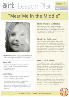 Meet Me in the Middle: Free Lesson Plan Download