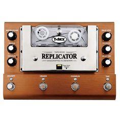 T-Rex Replicator Tape Delay · Pédale guitare électrique: Amazon.fr: Instruments de musique Guitar Effects Pedals, Guitar Pedals, Bass Pedals, Box Guitar, Tapas, Tape Echo, Analog Signal, Magnetic Tape, High End Audio