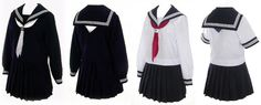 Japanese School Girl Cosplay Sailor Dress Patterns for Girls Japan School Uniform, School Uniform Girls, Girls Uniforms, School Uniforms, Visual Kei, Japanese Fashion, Asian Fashion, Harajuku, Japanese Uniform