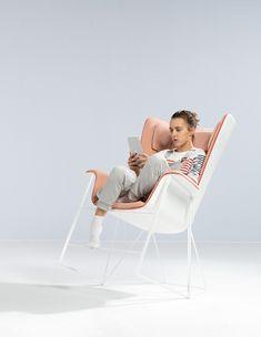 Chaise Grand Angle / Ecole Boule Majencia