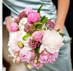 bride bouquet in pink mix - PINK Wedding