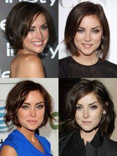 """The Jessica Stroup Bob"" / love her hair Hair Color And Cut, Cut My Hair, New Hair, Wavy Hair, Shiny Hair, Long Hair, Jessica Stroup, Brunette Bob, Pretty Hairstyles"