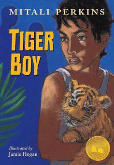 Tiger Boy - anul 2016 Autor: Mitali Perkins Ilustrator: Jamie Hogan