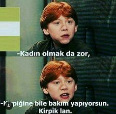 O kadar haklısın ki 😂 Harry Potter Humor, Harry Potter Comics, Always Harry Potter, Harry Potter Draco Malfoy, Harry Potter Cast, Funny Images, Funny Pictures, Ridiculous Pictures, Stupid Cat