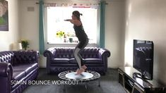 Our viewers have spoken and I am giving you a 50 minute Bounce workout. Yes, that's 50 minutes of non stop bouncing peeps! Mini Trampoline Workout, Backyard Trampoline, Playroom Design, Kid Playroom, Kids Room, Girls Bedroom Furniture, Teen Bedroom Designs, Rebounding, Play Houses